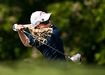 Morgan Pressel of USA in action during the Day 4 of the LPGA Sunrise Taiwan Championship on at Sunrise Golf Course on October 23, 2011 in Taoyuan, Taiwan. Photo by Victor Fraile / The Power of Sport Images