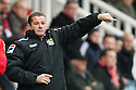 Stevenage manager Graham Westley<br />  - Peterborough United v Stevenage - Sky Bet League One - London Road, Peterborough - 23rd November 2013. <br /> © Kevin Coleman 2013