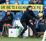 01.11.2020 Kilmarnock v Rangers:  Steven Gerrard
