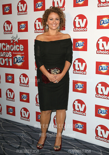 Nadia Sawalha arriving for the 2011 TVChoice Awards, at The Savoy, London. 13/09/2011 Picture by: Alexandra Glen / Featureflash