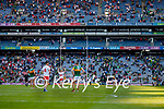 The end of the Senior football All Ireland Semi-Final between Kerry and Tyrone at Croke park on Saturday.