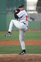 April 5, 2007:  Doug Brooks of the Great Lakes Loons at Coveleski Stadium in South Bend, IN.  Photo by:  Chris Proctor/Four Seam Images