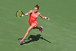 March 14, 2018: Petra Martic (CRO) defeated by Simona Halep (ROU) 6-4, 6-7(5), 6-3 at the BNP Paribas Open played at the Indian Wells Tennis Garden in Indian Wells, California. ©Mal Taam/TennisClix/CSM