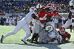 December 30, 2016: Georgia Bulldog running back Sony Michel (1) diving for the end zone in the first quarter of the Autozone Liberty Bowl at Liberty Bowl Memorial Stadium in Memphis, Tennessee. ©Justin Manning/Eclipse Sportswire/Cal Sport Media