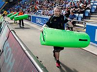 Photo: Richard Lane/Richard Lane Photography. Wasps v Northampton Saints. Aviva Premiership. 09/04/2017. Wasps' kitman, Pudsey.