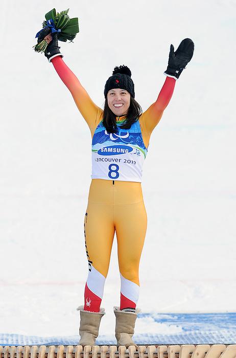 Karolina Wisniewska, Vancouver 2010 - Para Alpine Skiing // Ski para-alpin.<br /> Karolina Wisniewska competes in Para Alpine Skiing // Karolina Wisniewska participe en ski para-alpin. 15/03/2010.