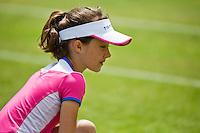 Netherlands, Rosmalen , June 08, 2015, Tennis, Topshelf Open, Autotron, ballgirl<br /> Photo: Tennisimages/Henk Koster