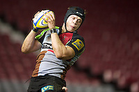 during the Aviva Premiership A League Final between Harlequins A and Saracens Storm at the Twickenham Stoop on Monday 17th December 2012 (Photo by Rob Munro)