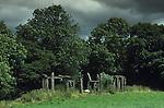 Quinta Stonehenge Nr Weston Rhyn Shropshire England.