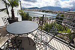 View of Lake Geneva from Hotel Le Richemond, Geneva, Switzerland