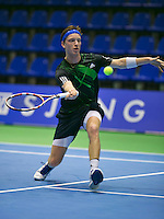 18-12-13,Netherlands, Rotterdam,  Topsportcentrum, Tennis Masters, , David de Goede      <br /> Photo: Henk Koster