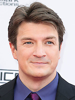 LOS ANGELES, CA, USA - NOVEMBER 23: Nathan Fillion arrives at the 2014 American Music Awards held at Nokia Theatre L.A. Live on November 23, 2014 in Los Angeles, California, United States. (Photo by Xavier Collin/Celebrity Monitor)