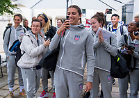 Reims, FRA - June 7, 2019:  The USWNT travels to France for the FIFA Women's World Cup.