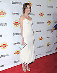 Lizzy Caplan attends The Premiere of Bachelorette at The Arclight Theatre in Hollywood, California on August 23,2012                                                                               © 2012 DVS / Hollywood Press Agency