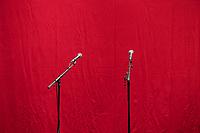 Vorstellung der Wahlkampagne der Linkspartei - Die Linke.) zur Bundestagswahl 2017 am Freitag den 21.Juli 2017 in der Parteizentrale in Berlin.<br /> 21.7.2017, Berlin<br /> Copyright: Christian-Ditsch.de<br /> [Inhaltsveraendernde Manipulation des Fotos nur nach ausdruecklicher Genehmigung des Fotografen. Vereinbarungen ueber Abtretung von Persoenlichkeitsrechten/Model Release der abgebildeten Person/Personen liegen nicht vor. NO MODEL RELEASE! Nur fuer Redaktionelle Zwecke. Don't publish without copyright Christian-Ditsch.de, Veroeffentlichung nur mit Fotografennennung, sowie gegen Honorar, MwSt. und Beleg. Konto: I N G - D i B a, IBAN DE58500105175400192269, BIC INGDDEFFXXX, Kontakt: post@christian-ditsch.de<br /> Bei der Bearbeitung der Dateiinformationen darf die Urheberkennzeichnung in den EXIF- und  IPTC-Daten nicht entfernt werden, diese sind in digitalen Medien nach §95c UrhG rechtlich geschuetzt. Der Urhebervermerk wird gemaess §13 UrhG verlangt.]