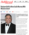Leslie Moonves in The Hollywood Reporter, 10/11/2011