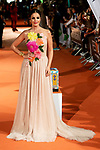 Actress Marta Torne attends to orange carpet of 'Velvet' during FestVal in Vitoria, Spain. September 04, 2018. (ALTERPHOTOS/Borja B.Hojas)