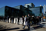 Long Wait Times are Reported at Javits Center COVID Vaccine Site in New York