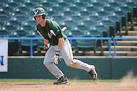 University of South Florida Bulls infielder Kyle Teaf (3) during a game against the Temple University Owls at Campbell's Field on April 13, 2014 in Camden, New Jersey. USF defeated Temple 6-3.  (Tomasso DeRosa/ Four Seam Images)