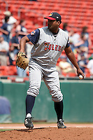 Toledo Mudhens Hector Mercado during an International League game at Dunn Tire Park on June 8, 2006 in Buffalo, New York.  (Mike Janes/Four Seam Images)