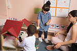 Education Preschool Phase-in First Days of School 2-3 year olds start of day parent staying to play for a few minutes