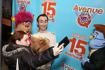 "Jason Jacoby with Avenue Q & Puppetry Fans during ""Avenue Q"" Celebrates World Puppetry Day at The New World Stages on 3/21/2019 in New York City."