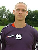 KV Kortrijk eerste training..Tristan Lahaye..fotos DAVID CATRY/VDB