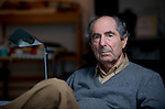 Philip Roth in his apartment in Manhattan, NY on October 5, 2010. His latest book, Nemesis, is set in his hometown of Newark, N.J. in 1944 in the midst of a polio outbreak. Jimmy Jeong / www.jimmyshoots.com