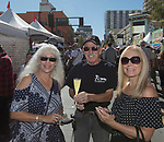 Karen, Harvey and Laura during the Italian Festival in downtown Reno on Saturday, Oct. 7, 2017.
