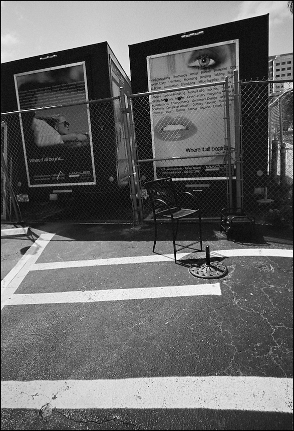 "The Trap<br /> From ""Walking Downtown"" series. Miami, FL, 2008"