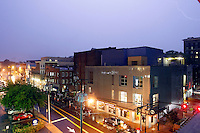 The Downtown Mall on Water Street in Charlottesville, Va. Photo/Andrew Shurtleff