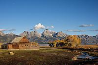 Mormon Barn, Grand Tetons Naitonal Park, Wyoming