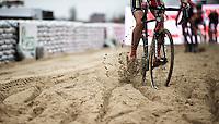 CX sand ballet<br /> <br /> Jaarmarktcross Niel 2015  Elite Men & U23 race