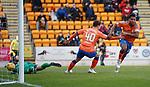 23.12.2018 St Johnstone v Rangers: Alfredo Morelos scores the winning goal