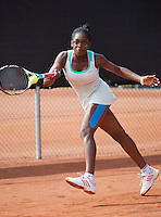 August 6, 2014, Netherlands, Rotterdam, TV Victoria, Tennis, National Junior Championships, NJK,  Sylvia Okafor (NED)<br /> Photo: Tennisimages/Henk Koster