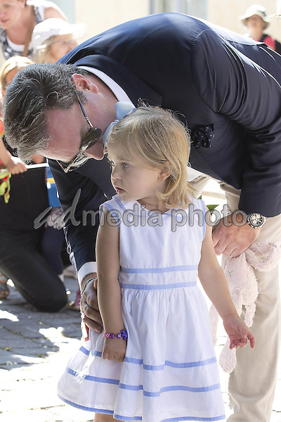 03 June 2016 Sweden Duchess Leonore and Chris O'Neill visiting the island Gotland in Visby. Photo Credit: PPE/face to face/AdMedia