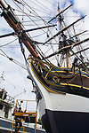 Lady Washington, sailing ship, sail training ship, Grays harbor Historical Seaport Authority, Boat Haven Marina, Port Townsend, Washington State, Pacific Northwest, USA, historic ships, wooden boats,