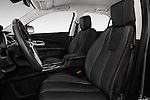Front seat view of 2017 Chevrolet Equinox LT 5 Door Suv Front Seat  car photos