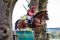 AUS-Dr Harald Ambros rides Lexikon 2 during the Cross Country for the CCIO4*-S FEI Nations Cup Eventing. 2021 BEL-Concours Complet Arville. Saturday 21 August 2021. Copyright Photo: Libby Law Photography