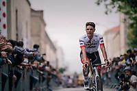 Jasper Stuyven (BEL/Trek-Segafredo) at the Team presentation in La Roche-sur-Yon<br /> <br /> Le Grand Départ 2018<br /> 105th Tour de France 2018<br /> ©kramon