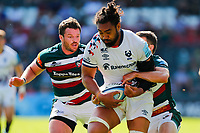 5th June 2021; Mattioli Woods Welford Road Stadium, Leicester, Midlands, England; Gallagher Premiership Rugby, Leicester Tigers versus Bristol Bears; Chris Vui of Bristol Bears breaks through the Leicester Tigers defence