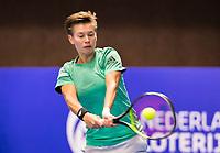Alphen aan den Rijn, Netherlands, December 16, 2018, Tennispark Nieuwe Sloot, Ned. Loterij NK Tennis, Womans : Demi Schuurs (NED)<br /> Photo: Tennisimages/Henk Koster