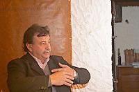 Reinaldo de Lucca, owner and wine maker Bodega De Lucca Winery, El Colorado, Progreso, Uruguay, South America