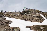 fans up the Passo San Bernardino (2065m/SUI)<br /> <br /> 104th Giro d'Italia 2021 (2.UWT)<br /> Stage 20 (through Switzerland) from Verbania to Valle Spluga-Alpe Motta (164km)<br /> <br /> ©kramon