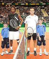 12-2-10, Rotterdam, Tennis, ABNAMROWTT, Gael Monfils, Mikhail Youzhny