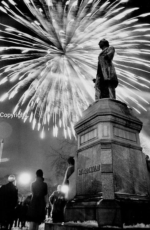FILE PHOTO -<br /> <br /> John Sandfield MacDonald <br /> Monuments--Ontario--Toronto
