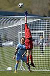 NELSON, NEW ZEALAND - Football: SPL - Nelson Suburbs v Cashmere Tech, Saturday 18th September 2021. Saxton Field, Nelson, New Zealand. (Photos by Barry Whitnall/Shuttersport Limited)