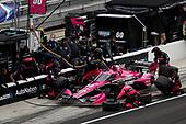 #60: Jack Harvey, Meyer Shank Racing Honda, pit stop