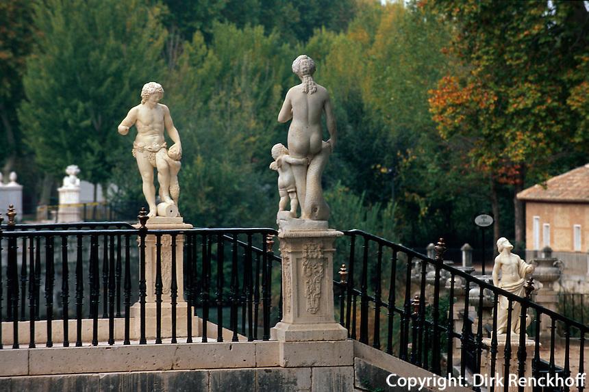Spanien, im Jardin de la Isla in Aranjuez bei Madrid, Unesco-Weltkulturerbe