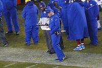 head coach Pat Shurmur of the New York Giants - 09.12.2019: Philadelphia Eagles vs. New York Giants, Monday Night Football, Lincoln Financial Field